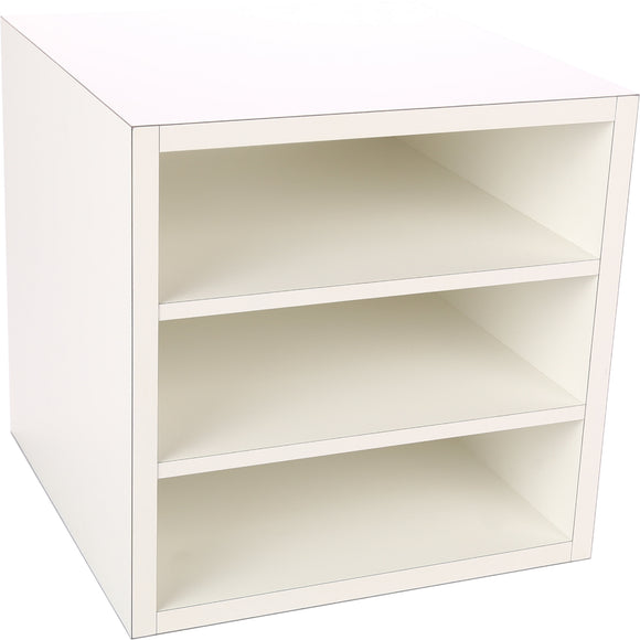 Premiere Cube, Two Fixed Shelves 16 Inch - Legacy Woodcrafters LLC,  Premiere 16 inch - Legacy Woodcrafters LLC