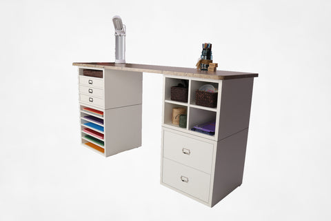 Desk Top with Storage