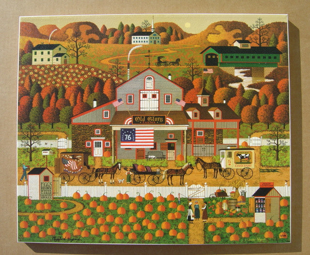 Old Glory Farms Canvas Transfer