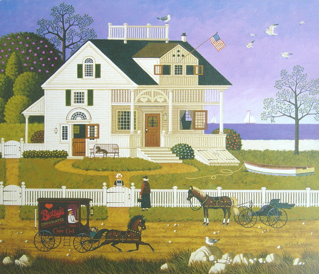 Pickwick Cottage Calendar Page