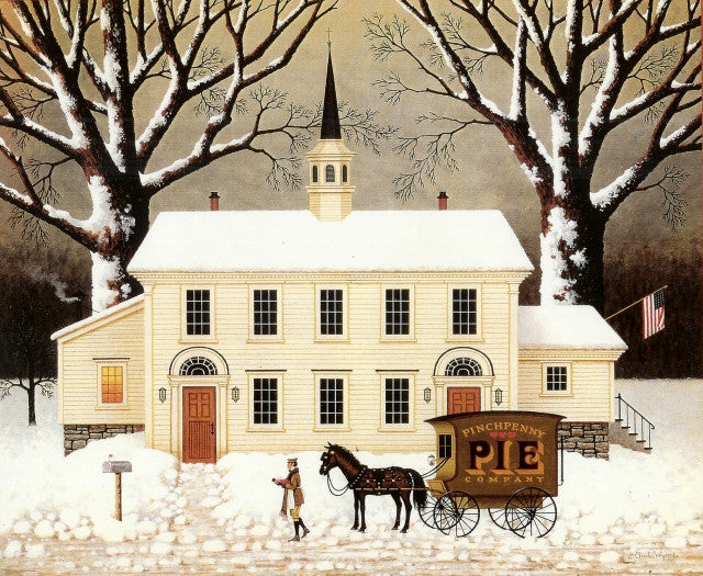 A Pie For The Parson Calendar Page