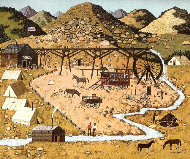 Curtis Mining Company Calendar Page
