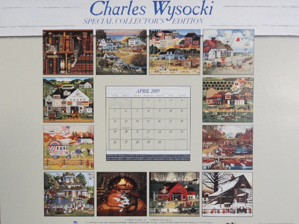 2009 Collector Edition Americana Wall Calendar