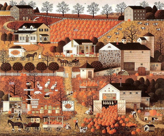 Bread and Butter Farms Giclee Canvas