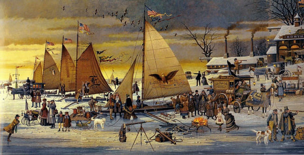 Ice Riders on Chesapeake Bay