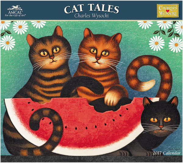 2017 Cat Tales Wall Calendar