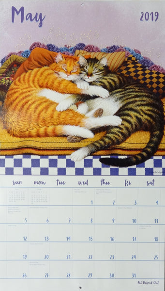 2019 Cat Tales Wall Calendar