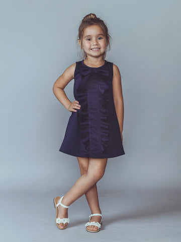 Sailor Blue Ruffled dress
