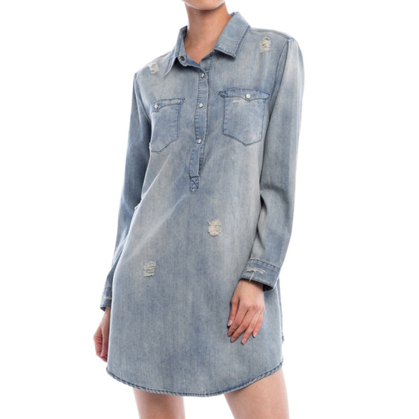 Sandra Denim Dress