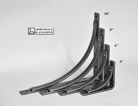 Station shelf brackets and corbels