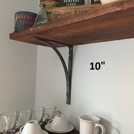 "Station Shelf Bracket (1"" wide) in 4"", 6"", 8"", 10"", or 12"" - Ships free within the USA"