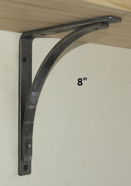 "Station Shelf Bracket in 4"", 6"", 8"", or 10"""