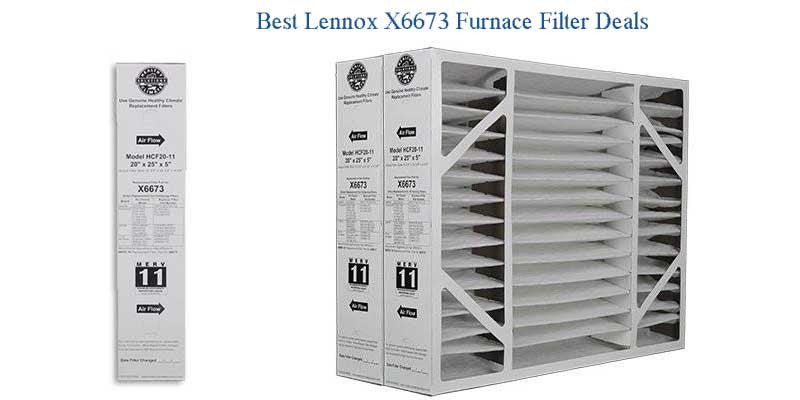 Lennox X6673 Furnace Filter Air Cleaner - Best Deals