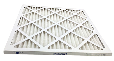 MERV 13 20x20x1 air filter for allergies