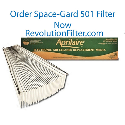 Find Aprilair Space-Gard Model 5000 Replacement Filter 501