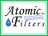 Atomic Filters Logo Blue Frame