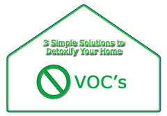 Get rid of VOC's and replace with organics