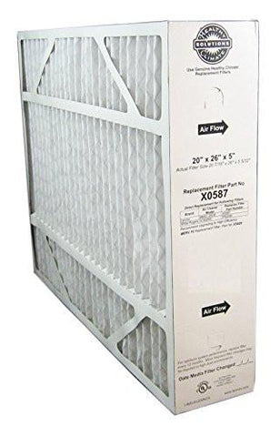 "Lennox X0587 BMAC-20CE Furnace Filter Nominal size: 20"" X 26"" X 5"" - ( Actual Size 20-7/16"" x 26"" x 5-5/32"" ) Best Price"