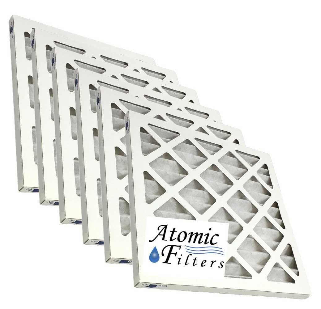 12x12x1 Merv 11 Pleated AC Furnace Filter - Case of 6 by Atomic