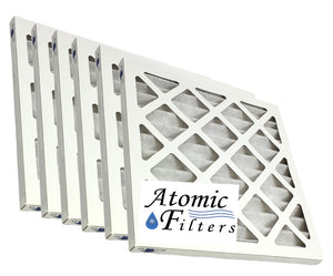 18x18x1 Merv 8 Pleated Geothermal Furnace Filter - Case of 6 by Atomic Filters