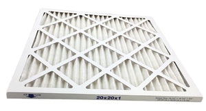 20x20x1 Merv 8 Pleated AC Furnace Filter by Atomic