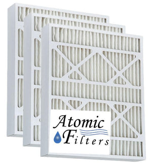 15.5x24.5x3.625 Merv 13 AC Furnace Filter - Case of 3