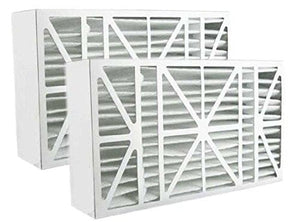 Atomic 20x25x6 MERV 11 201 Replacement Furnace Filter Aprilaire and Space-Gard 2200 Compatible - 2 Pack