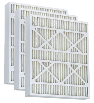 15.5x25.5x3.625 Merv 13 AC Furnace Filter - Case of 3