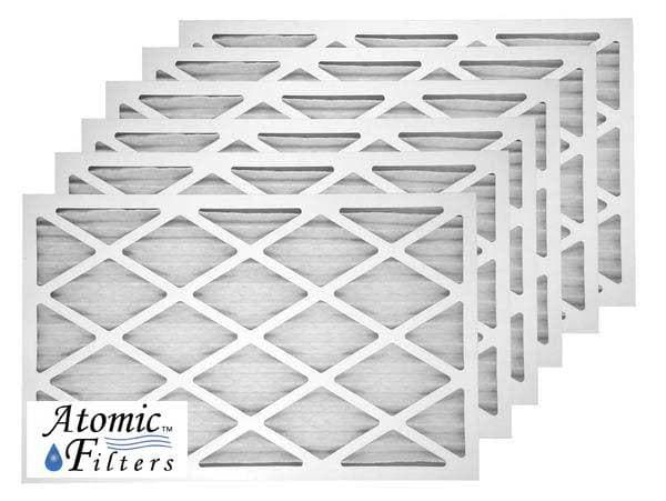 16x20x1 Merv 8 Pleated Air Filter Case Of 6 Atomic Filters