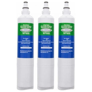 Aqua Fresh WF600 Refrigerator Water Filter Replacement for LG LT600P - 3 pack