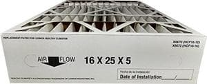 "Atomic X6670 Lennox Compatible Merv 11 Filter Media 16""X25""X5"" Fits X6660 HCC16-28 - 2 Pack"