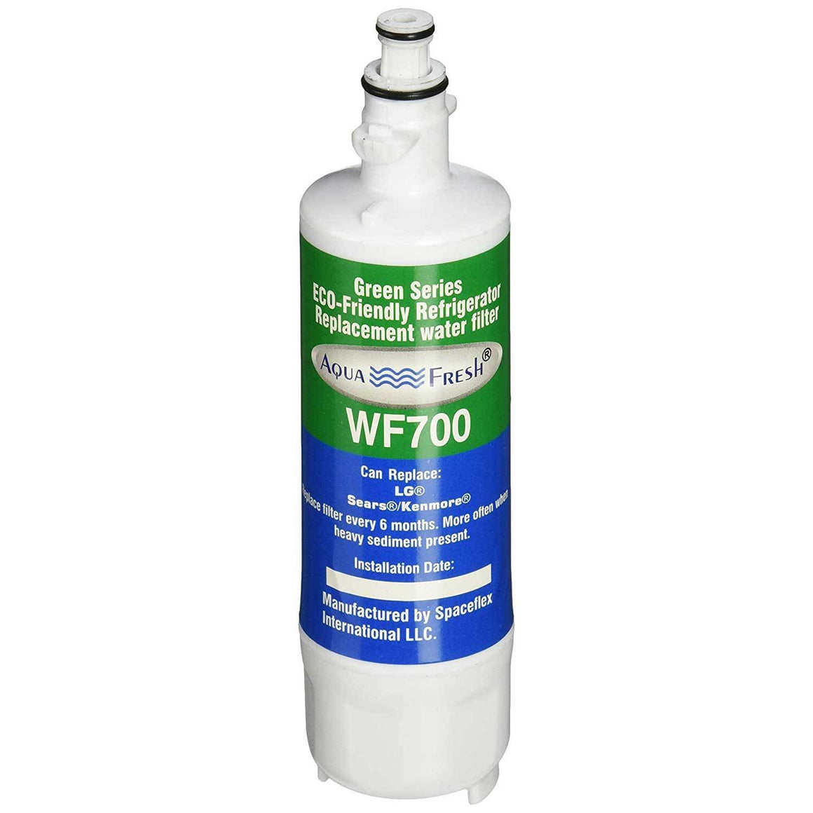 Aqua Fresh WF700 Refrigerator Water Filter Replacement for LG LT700P Part adq36006101