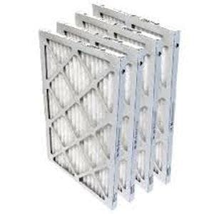 Lennox 25x25x1 MERV 8 Pleated Air Filters 4-Pack  91X26
