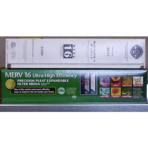 "Genuine Lennox X8313 MERV 16 Expandable Filter 20"" x 25"" x 5"""