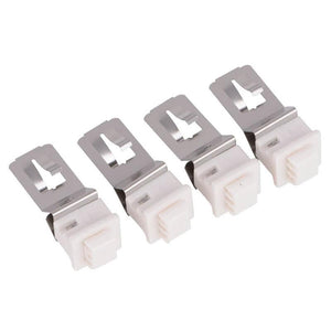 Healthy Climate PureAir X892701 Lamp Clips for PCO20-28, PCO16-28m PCO14-23, 4 Pack