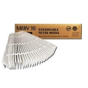 Lennox Genuine OEM X8310 Expandable replacement Filter 20x25x5 (2 Pack)