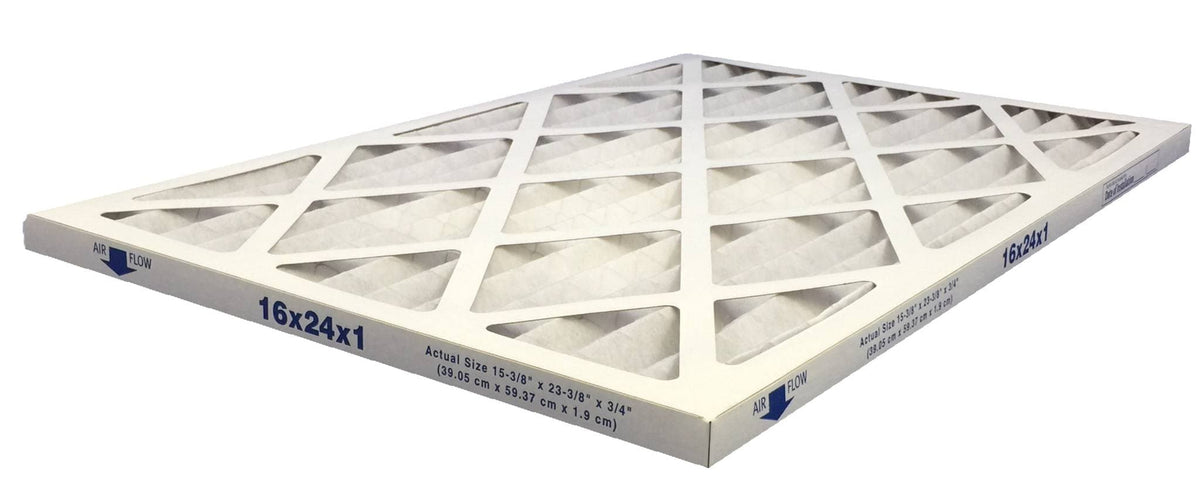 16x24x1 Merv 13 Allergy Elite Pleated Air Filter - Case of 6