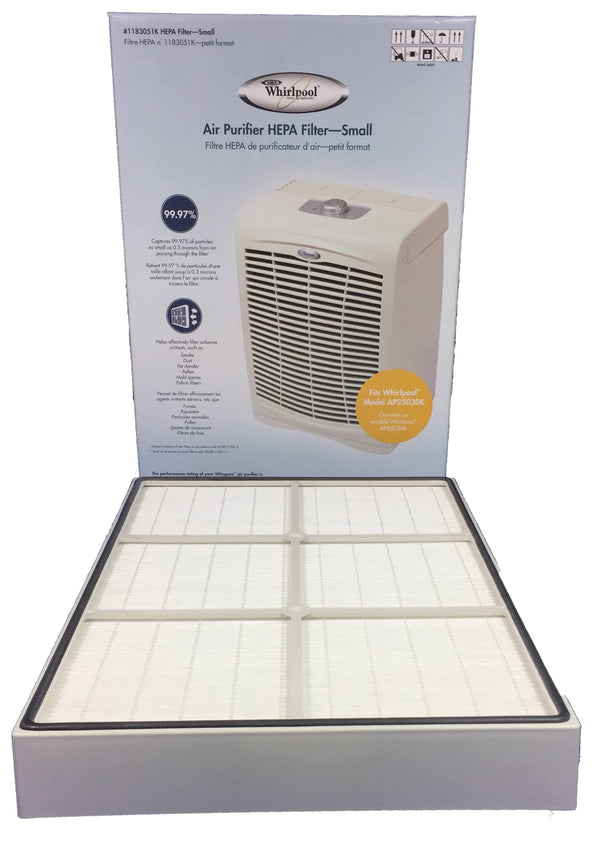 Authentic Whirlpool 1183054k Hepa Replacement Filter Fits