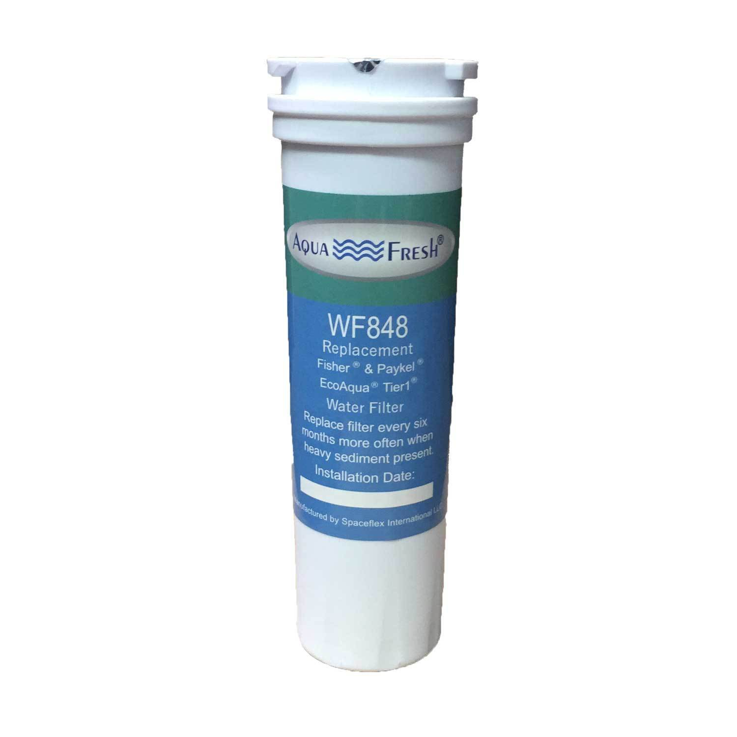 Aqua Fresh WF848 Replacement for Fisher & Paykel 836848 Refrigerator Water Filter