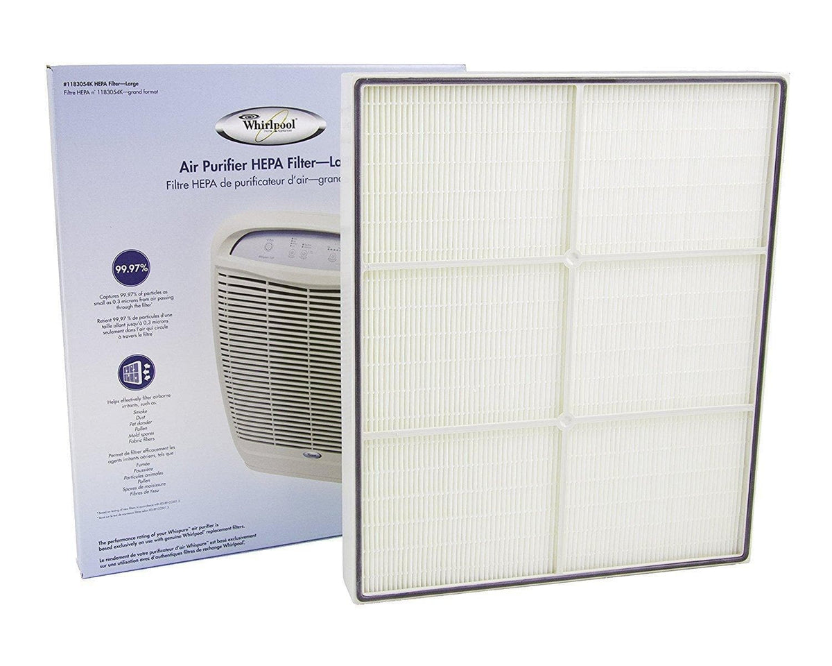 Genuine OEM Whirlpool 1183054K HEPA Replacement Filter Fits Whispure Air Purifier Models AP450 and AP510 Best Price