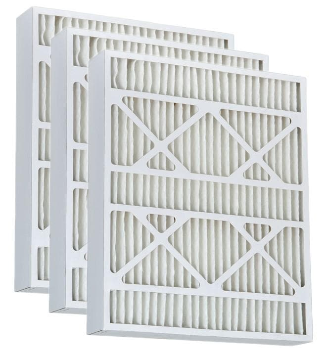 Atomic 15.5x24.5x3.625 MERV 11 Pleated AC Furnace Filter - Case of 3