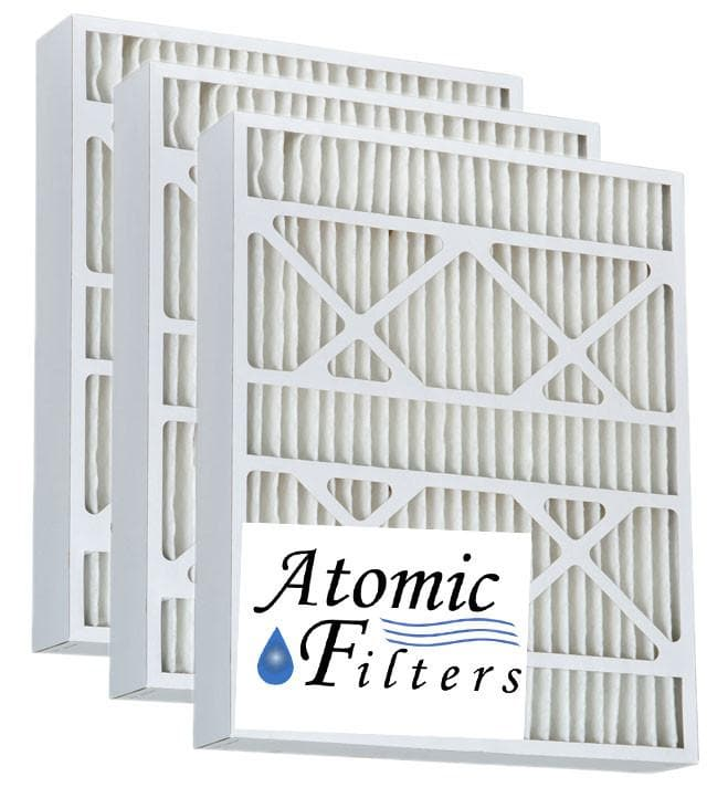Atomic 25x29x4 MERV 13 Pleated AC Furnace Filter - 3 Pack