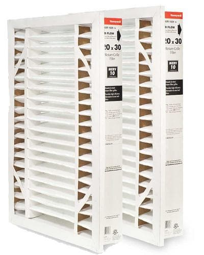 "Honeywell FC40R1029 Return Grill Media Air Filter, 20"" x 30"" 2 pack"