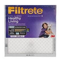 Filtrete 1500 Ultra Allergen Filter 20x20x1
