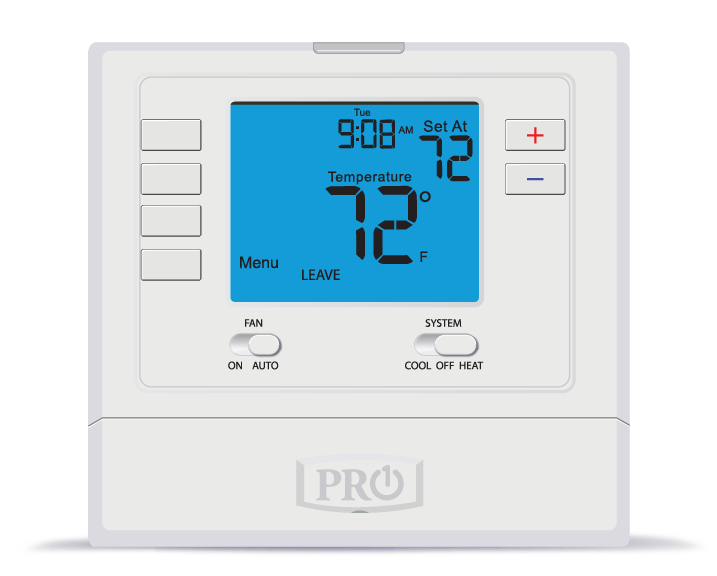 PRO1 IAQ T715 Touchscreen 5/1/1 Programmable Electronic Thermostat