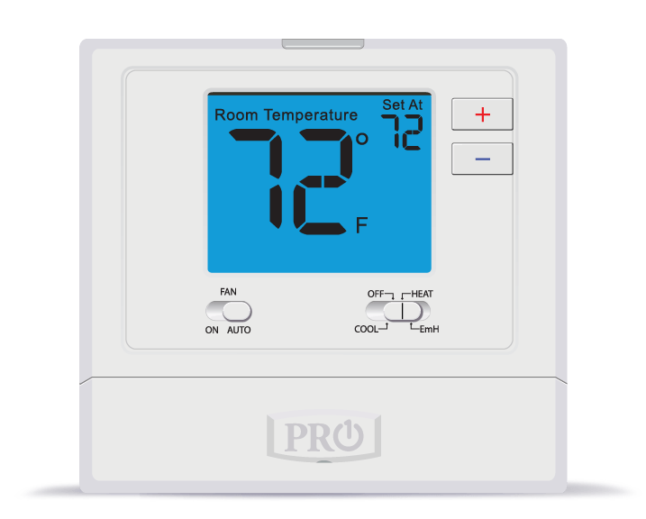 PRO1 T721 2H/1C Non-Programmable Digital Thermostat