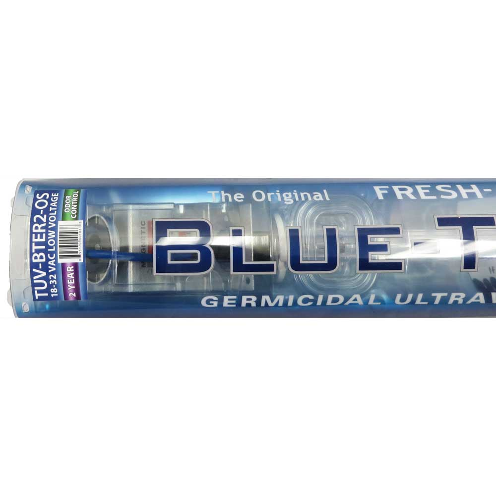 Fresh-Aire Blue Tube - TUV-BTER2-OS UV light with odor control