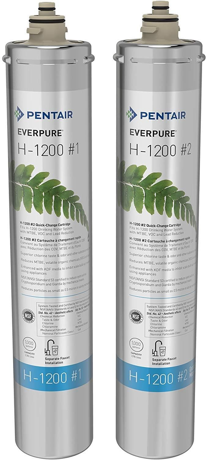 Everpure EV9282-01 H-1200 Water Filter Replacement Cartridge Set