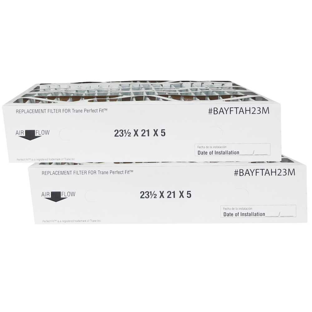 Atomic BAYFTAH23M 21x23.5x5 MERV 11 Trane Replacement Furnace Filter - 2 Pack