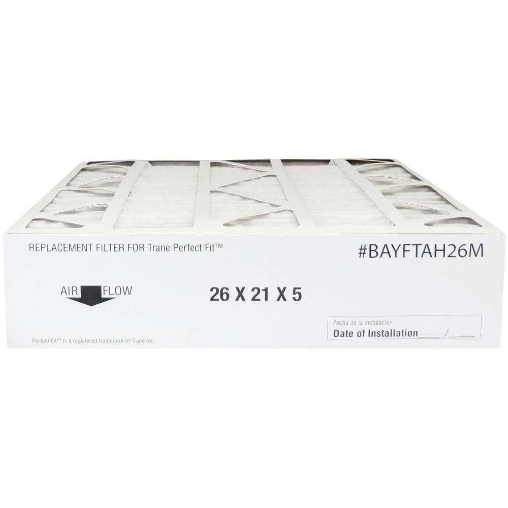 Atomic BAYFTAH26M 21x26x5 MERV 8 Trane Replacement Furnace Filter - 2 Pack
